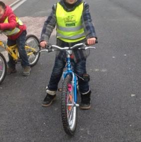 bicycle children safety vest