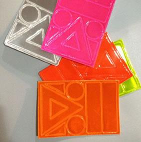 reflective sticker set