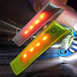 LED reflective velcro clip Multilight 300X