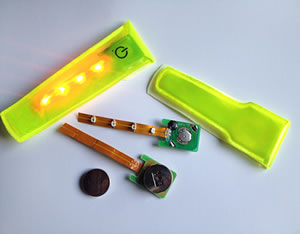 LED reflector clip on Multilight 300X 1